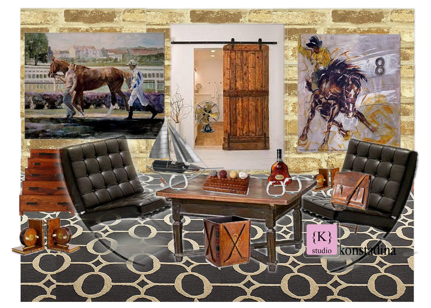 design board: man cave -konstadina nastou- {.k.} blog, Κωνσταντίνα Νάστου