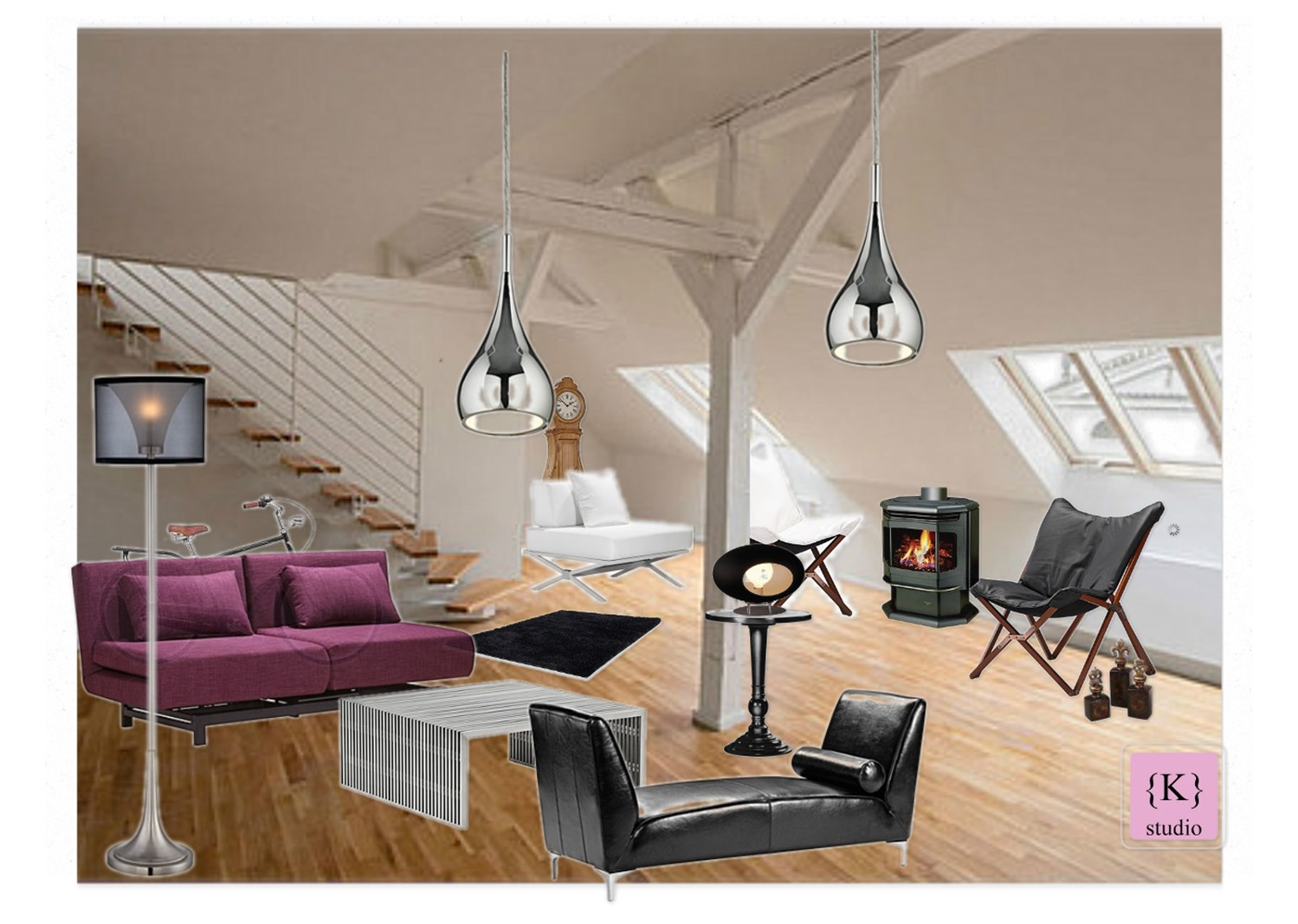 design board: Loft, Euro Style Lighting  -konstadina nastou- {.k.} blog, Κωνσταντίνα Νάστου