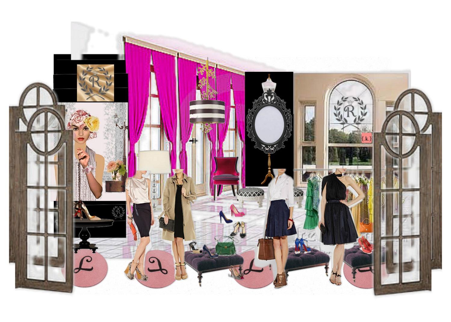 design board: Shopaholic Storefront -konstadina nastou- {.k.} blog, Κωνσταντίνα Νάστου