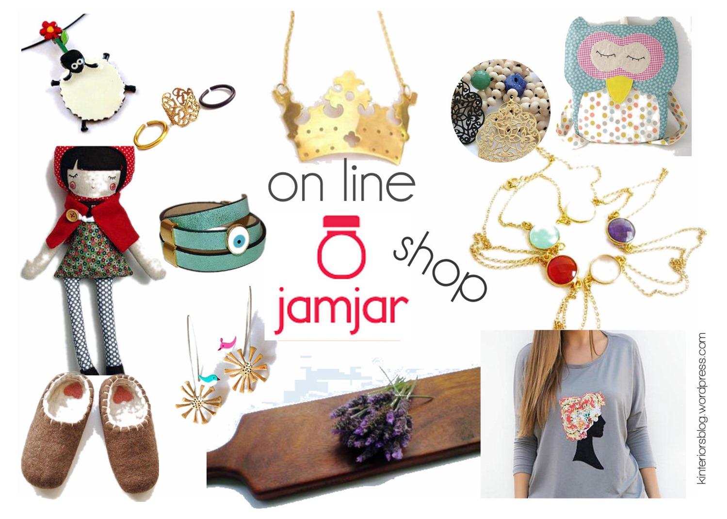 jamjar, online shopping, ελληνικό διαδυκτικό κατάστημα, χεροποίτα αντικείμενα, χειροποίτα δώρα, handmade