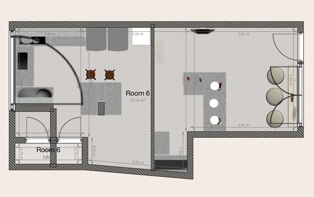 Cupcakes4ever shop - final floorplan