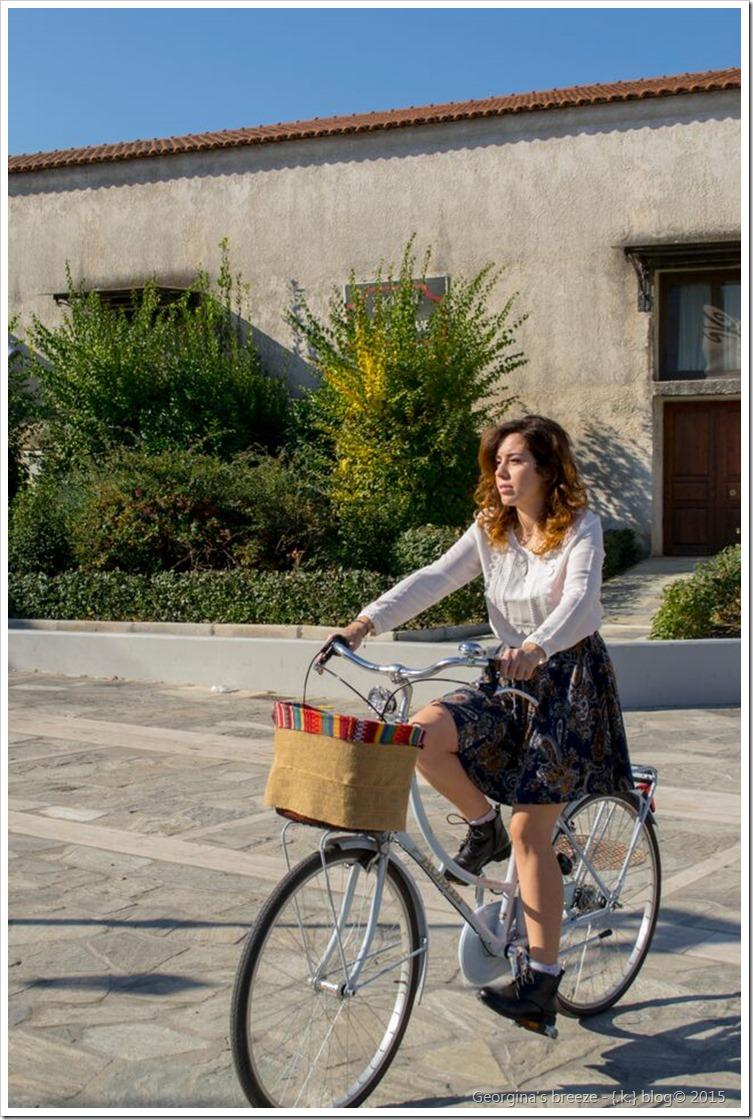 Τζωρτζίνα Αργυράκη η σχεδιάστρια του brand: Georgina's breeze.