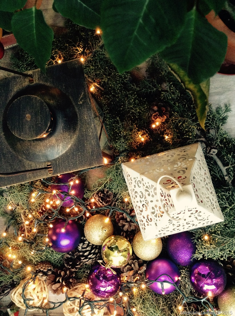 Χριστουγεννιάτικη διακόσμηση στο Medicure {.k.}blog