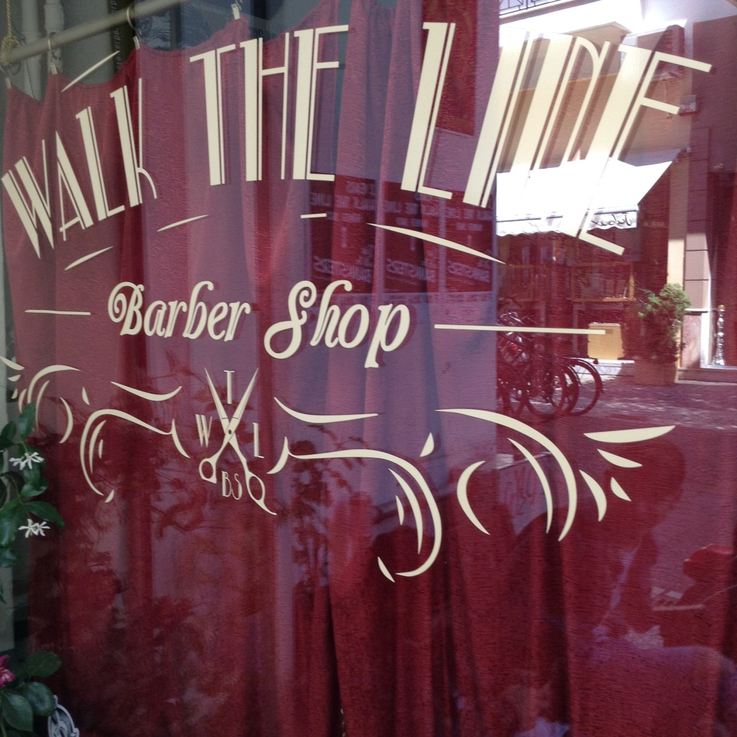 {.k.} blog - Walk The Line Barber Shop