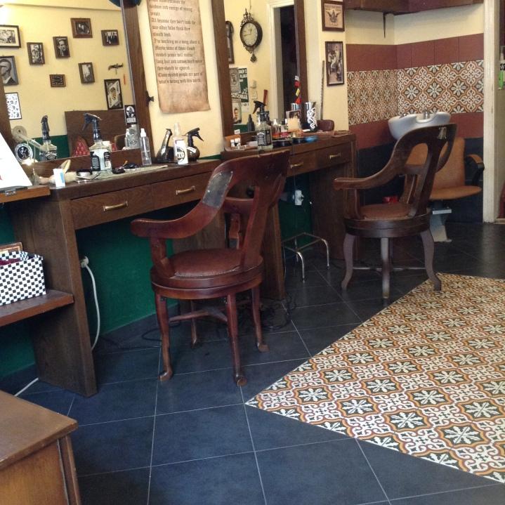 {.k.} blog - Walk The Line Barber Shop