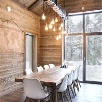 Home decor style: chalet