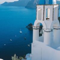 Greek island: Santorini