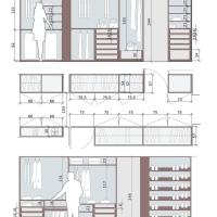 Σπίτι: ιδέες διαμόρφωσης για το dressing room